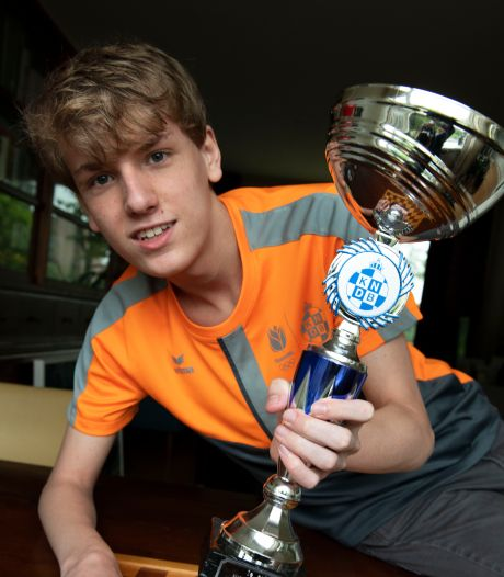 Dammer Simon Harmsma pakt brons bij NK junioren