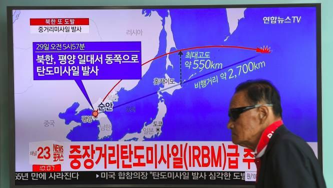 Noord-Koreaanse raket haalde hoogte van 550 km (en dat is lang geen record)