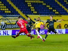 Tiental NAC loopt averij op tegen Roda JC, maar ontsnapt dankzij Bilate aan nederlaag