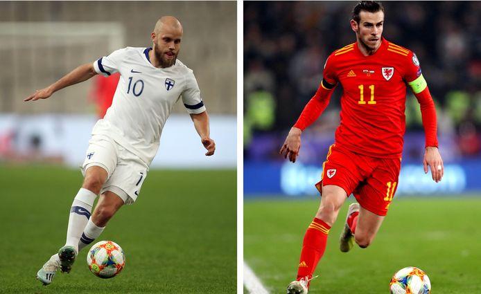 Pukki (Finland) en Bale (Wales)