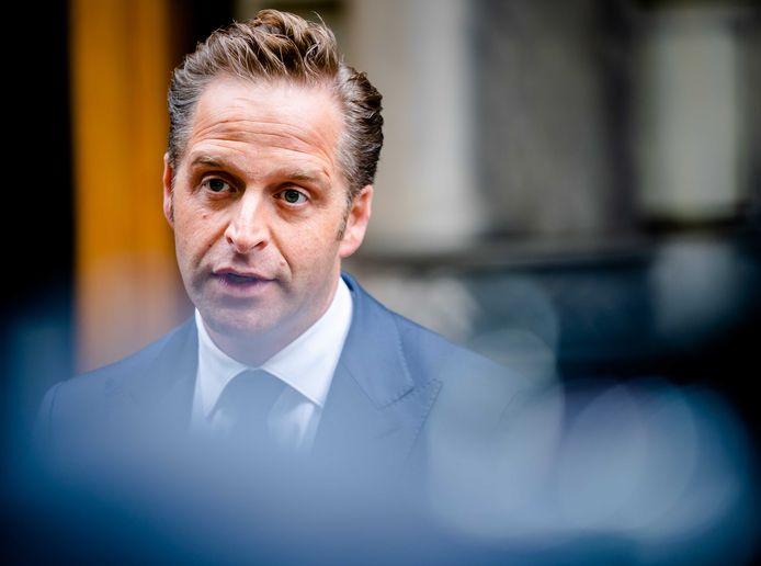 Minister Hugo de Jonge van Volksgezondheid.