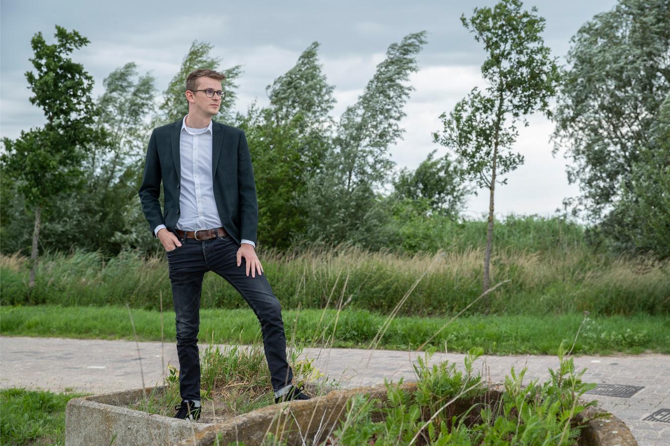 Wethouder Mathijs ten Broeke gooit de deuren in Zutphen dicht voor nieuwe zorginstellingen.