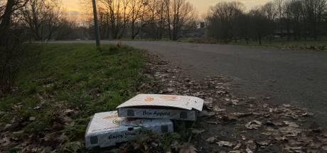 Steeds meer pizzadozen en afhaaltasjes op straat, Roosendaalse bezorgrestaurants in actie