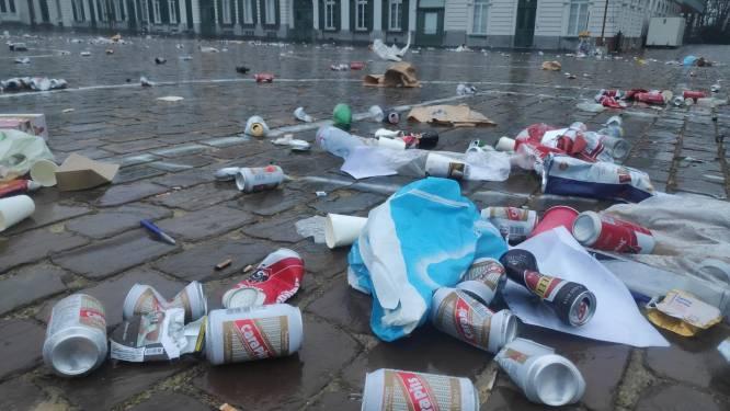 Amper helft van Belgen sorteert lege drankblikjes buitenshuis op juiste manier