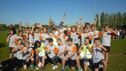 Leerlingen strijden om titel op scholenveldloop