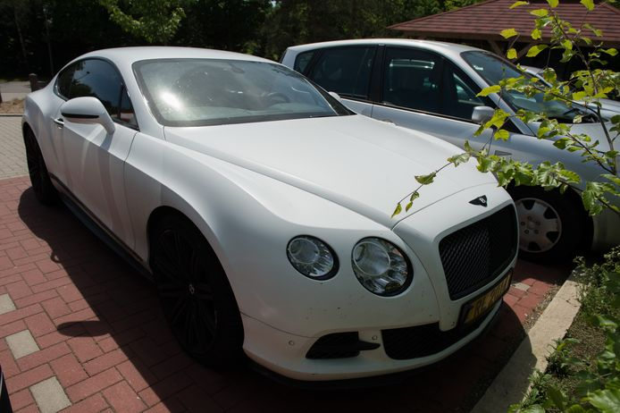 La Bentley Continental GT de Romelu Lukaku.