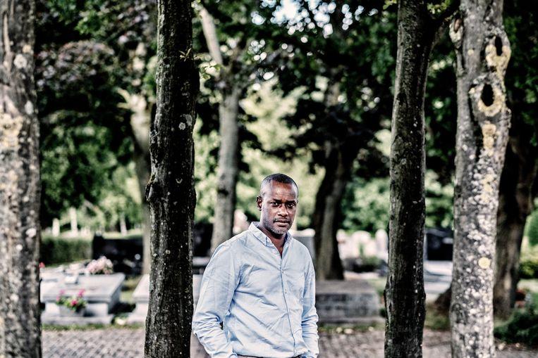 Ousmane Dia, vader van Sanda Dia. Beeld Tim Dirven