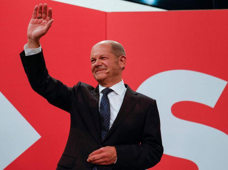 SPD wint Duitse verkiezingen, groot verlies voor CDU/CSU