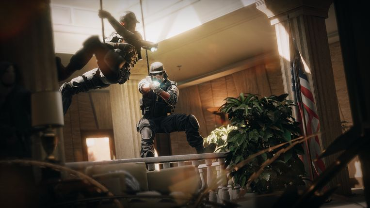Screenshot uit 'Rainbow Six: Siege'. Beeld Ubisoft