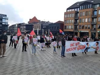 """PVDA houdt 1 mei-actie op de Markt: """"Werknemers in de frontlinie van deze pandemie hebben veel te laag loon"""""""