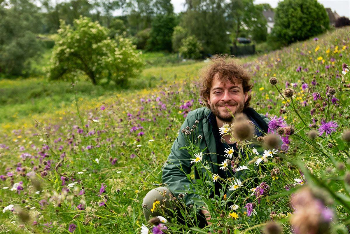 Nils van Rooijen, onderzoeker vegetatie-, landschaps- en bosecologie bij Wageningen University.