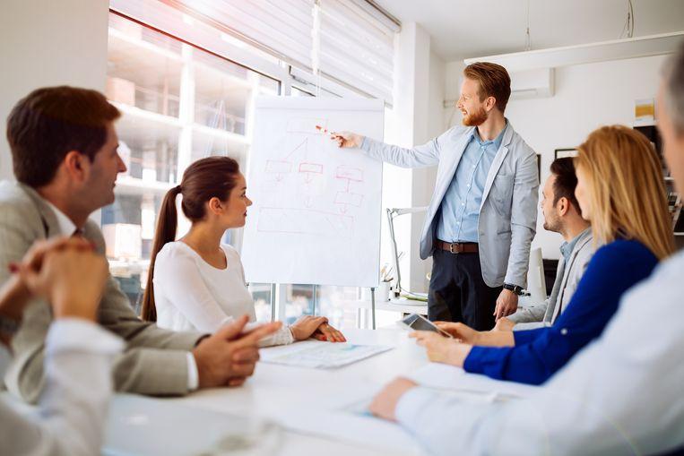 Een belangrijke meeting? Die plant u het best 's middags, suggereert de studie. Beeld Thinkstock