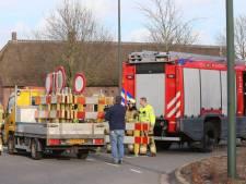 Leiding geraakt tijdens werkzaamheden in Haaren, geen ontploffingsgevaar