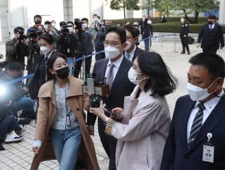 Topman Samsung krijgt geldstraf voor gebruik verdovende middelen