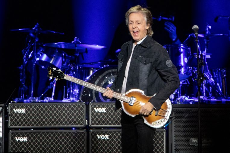 Onder anderen Paul McCartney tekende de brief.  Beeld BELGAIMAGE