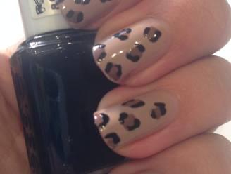 Manicure Maandag: neutrale luipaardprint