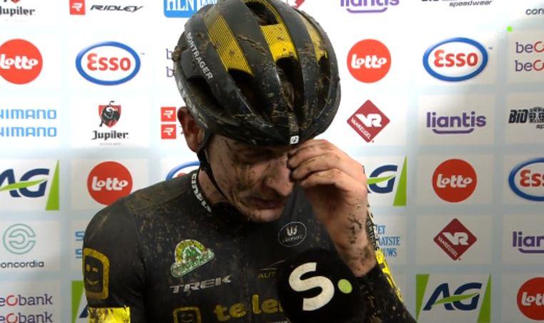 Toon Aerts hield het niet droog na eerste Belgische titel.
