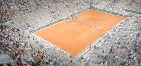 """""""Merci Macron! Merci Macron!"""", chante le public de Roland-Garros, autorisé à rester malgré le couvre-feu"""