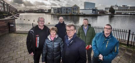 Bewoners gruwen van vijf woontorens die rond haventje Rijswijk moeten komen