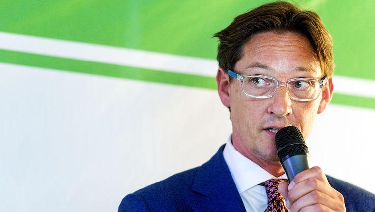 Met Joost Eerdmans heeft Leefbaar Rotterdam een lijsttrekker met nationale bekendheid. Beeld anp