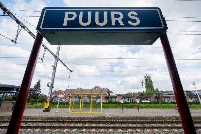 Het station van Puurs-Sint-Amands.