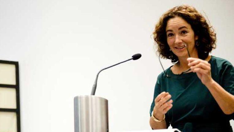 Femke Halsema tijdens de presentatie van het rapport Commissie behoorlijk bestuur. Beeld anp