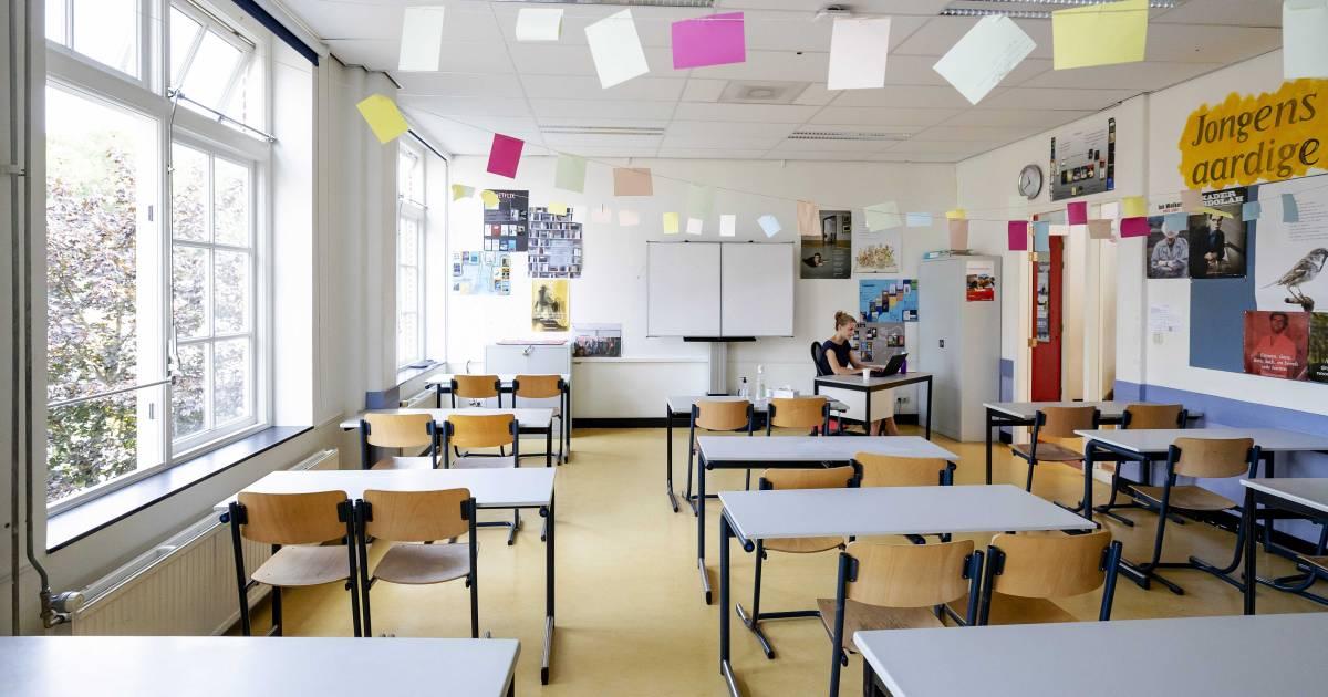 'Leerlingen vanaf 1 maart één dag per week naar middelbare school' - BN DeStem