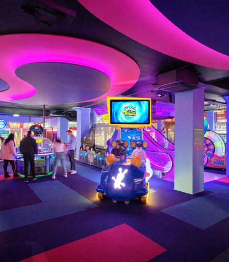 Nieuwe arcadehal in Zuidoost: 1250 vierkante meter aan spellen
