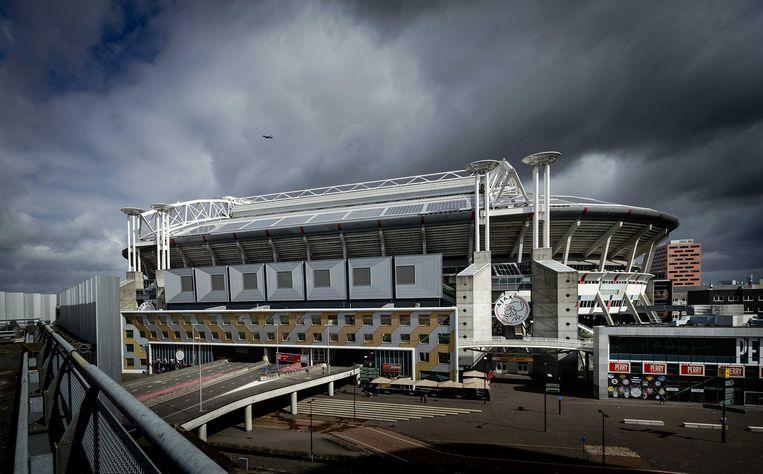 De Amsterdam Arena heet vanaf het voetbalseizoen 2018/2019 officieel de Johan Cruijff Arena. Beeld ANP