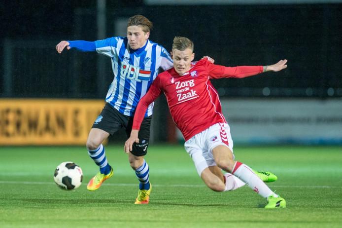 Tibeau Swinnen vindt het na vijf jaar bij FC Eindhoven tijd voor een nieuwe stap.