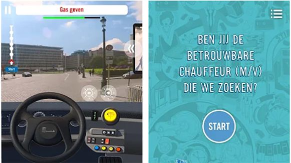 De app Simbus wil mensen warm maken om buschauffeur te worden..