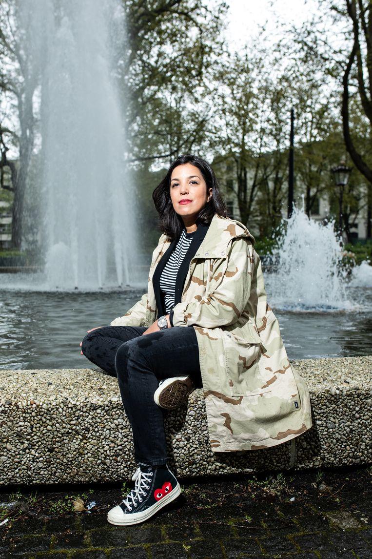 Nadia Bouras. Beeld Nosh Neneh