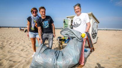 Ruim 3.300 liter afval van strand geplukt tijdens alternatieve Eneco Clean Beach Cup, ook in het binnenland veel zwerfvuil geruimd