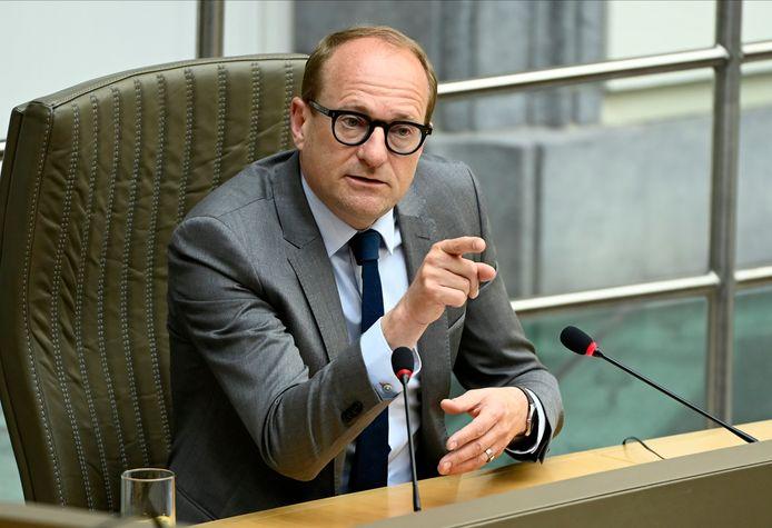 Minister van Onderwijs Ben Weyts