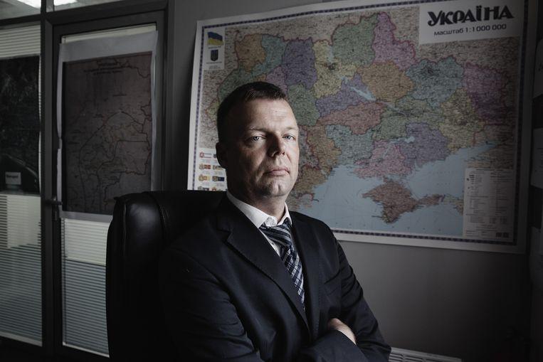 Alexander Hug. Beeld Daniel Rosenthal / de Volkskrant