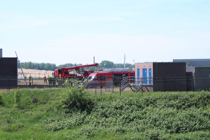 De brand in de kerncentrale van Dodewaard.
