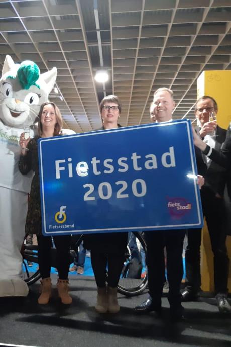 Veenendaal is de beste Fietsstad van Nederland