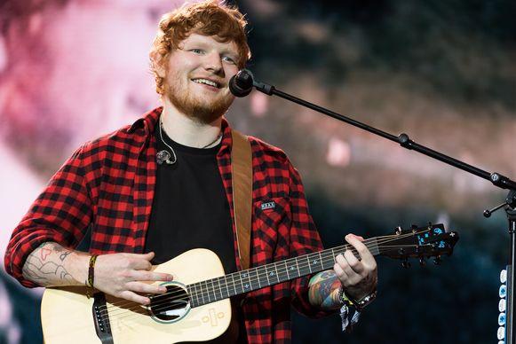 Ed Sheeran werd in zijn thuisstad geëerd met een speciale krant