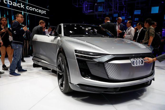 De Audi e-tron Sportback.