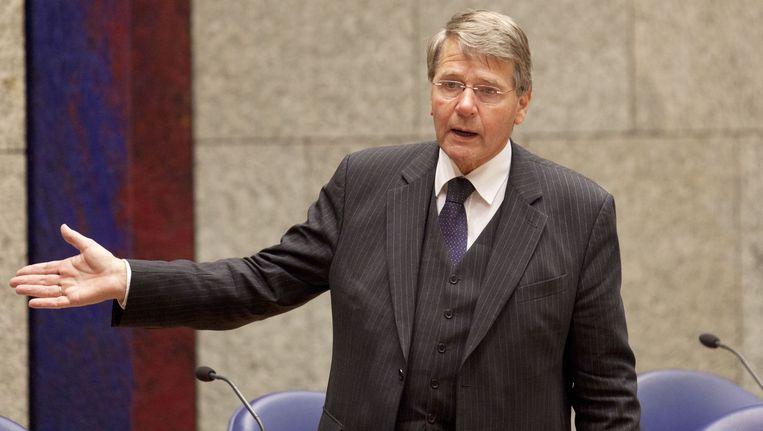 Dat toenmalig minister Donner van Binnenlandse Zaken deed alsof de procedure bij het Europees Hof een opschortende werking had, zat het Clara Wichmann Proefprocessenfonds behoorlijk dwars. Beeld ANP