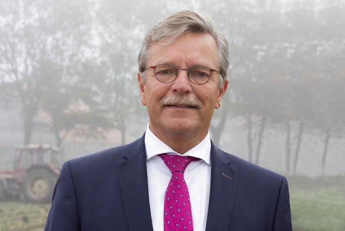 Burgemeester Aucke van der Werff.