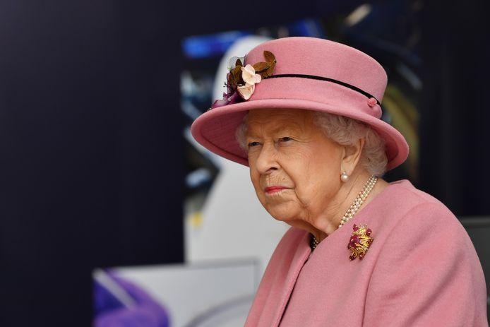 La reine Elizabeth II, en octobre 2020.