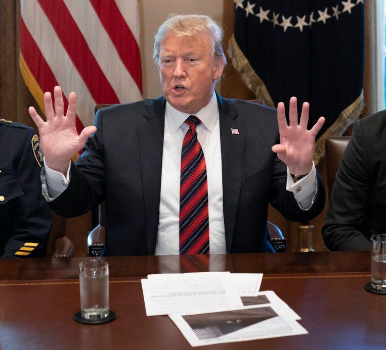 President Donald J. Trump. Beeld Photo News