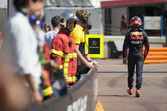 Max Verstappen na de vijfde plek in 2017