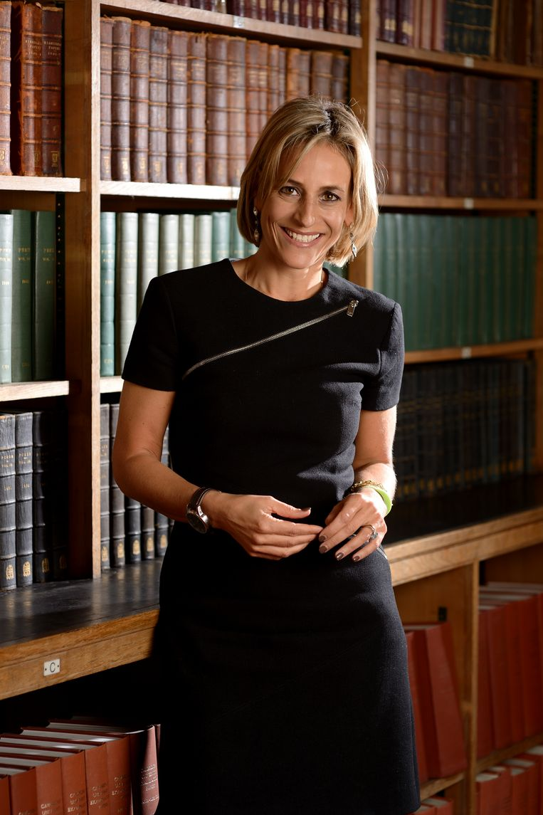 Emily Maitlis Beeld Getty Images