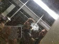 Antwerpse tram met fans Gers Pardoel mikpunt van vandalen