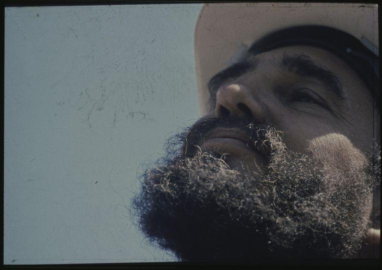 Een foto die fotograaf Van der Elsken maakte van Fidel Castro Beeld Ed van der Elsken