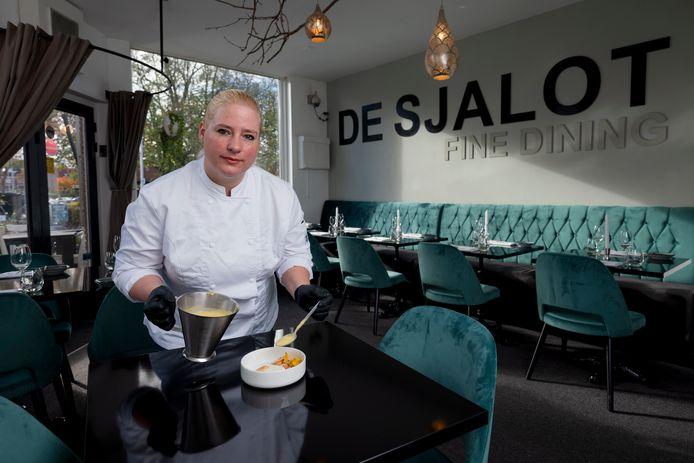 Sibrecht Benning van het Nijmeegse restaurant De Sjalot.