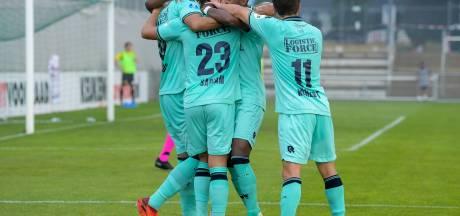 Goals als water voor Willem II in Luxemburg