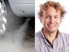 Dubbelparkeerders ontwijken, uitlaatgassen inhaleren: heerlijk, je kind ophalen van school